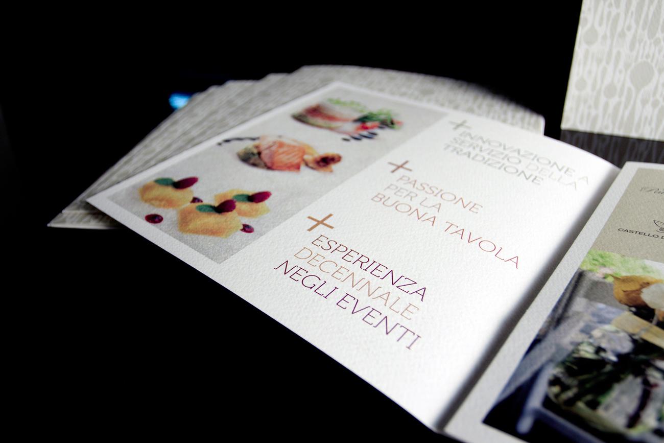 Gusto Banqueting & Catering pieghevole tre ante particolare interno