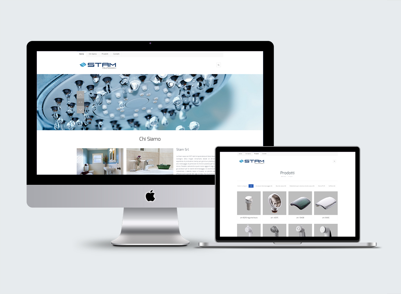 Rubinetterie e Accessori Brescia - Stam srl - Logo e Immagine coordinata - Sito Internet