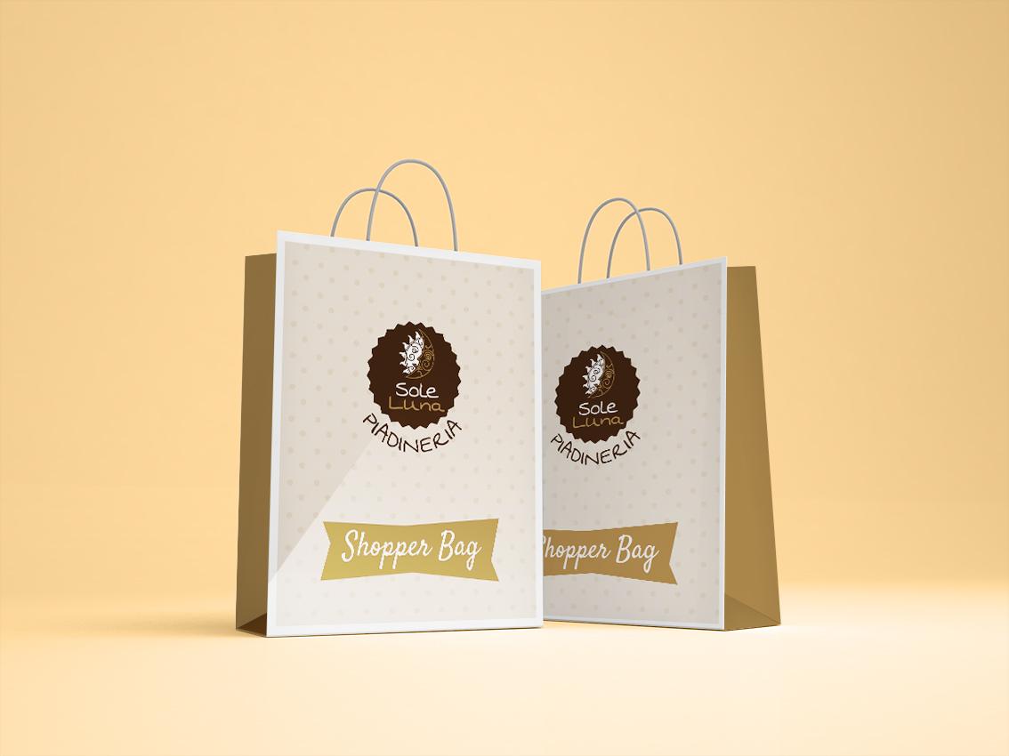 Piadineria Sole Luna Shopper Bag