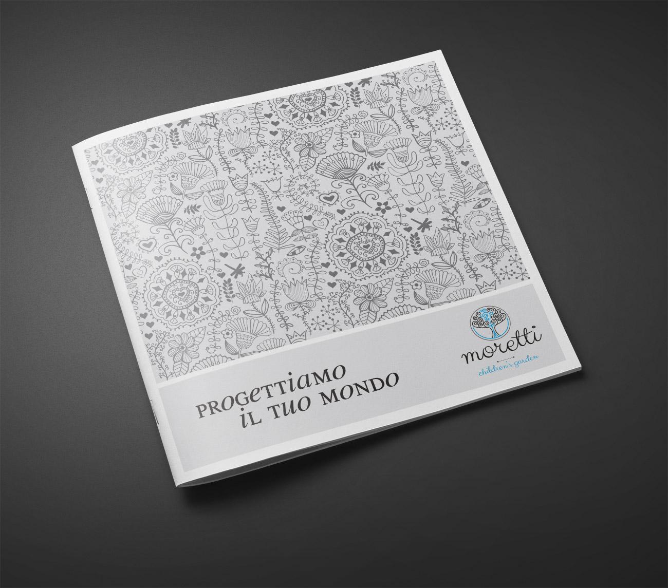 Giardini Moretti copertina Brochure