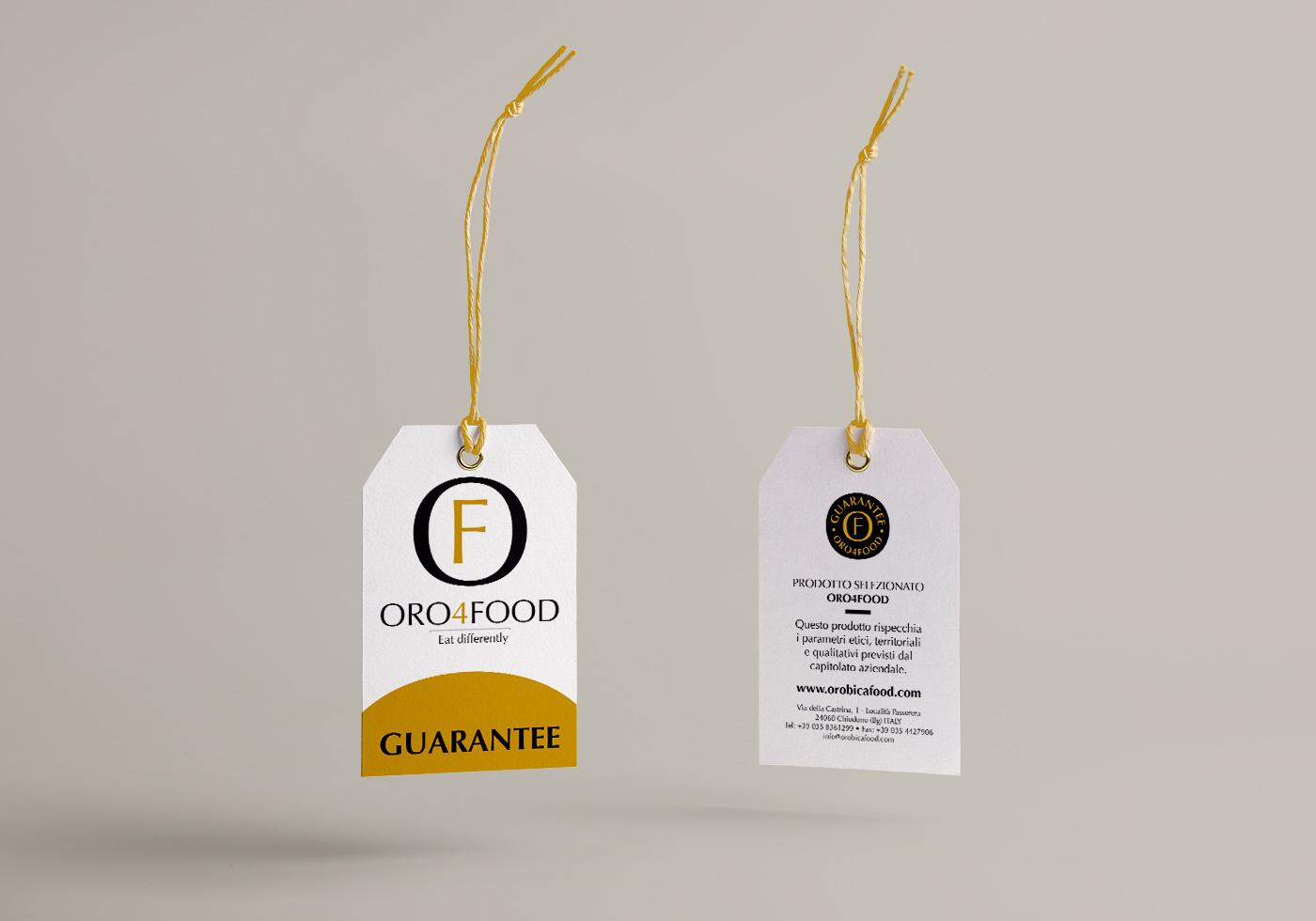 Orobica Food-Collarino-garanzia