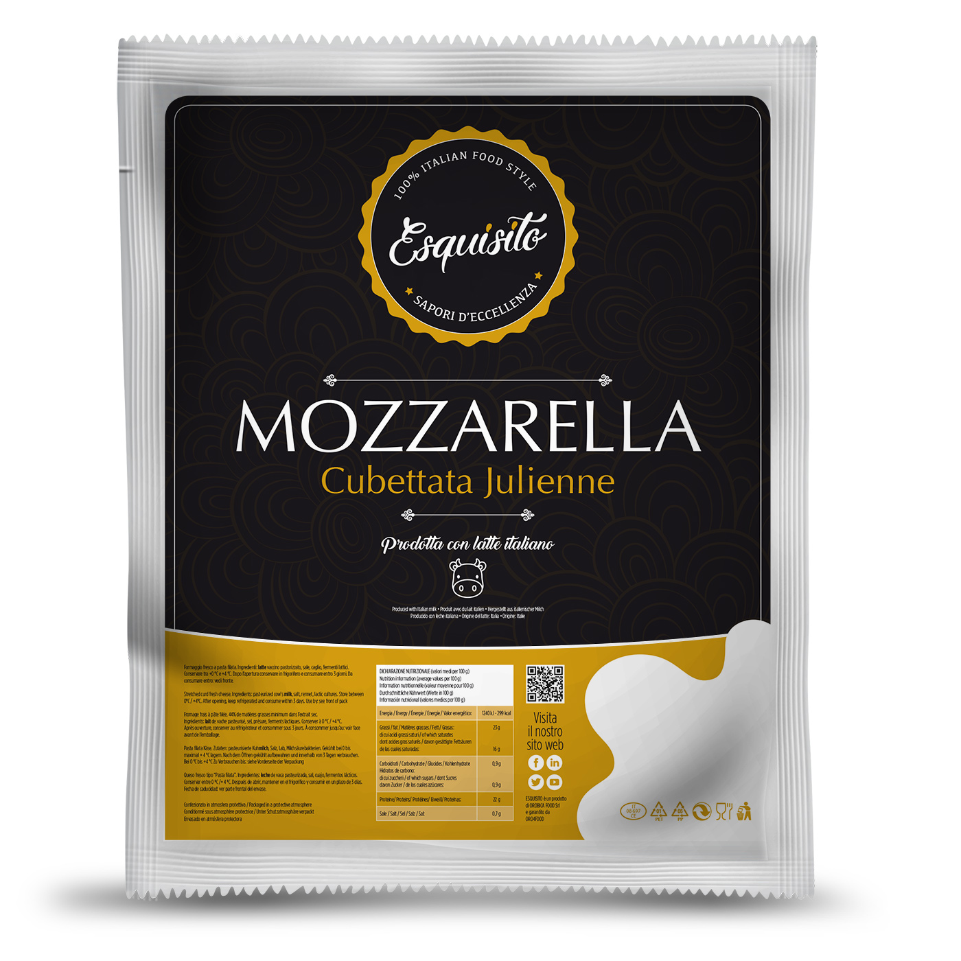 Orobica Food-Esquisito-mozzarella