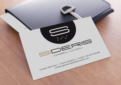 Creativamente Agenzia di Comunicazione Brescia - SIDERIS - nuovo marchio-02