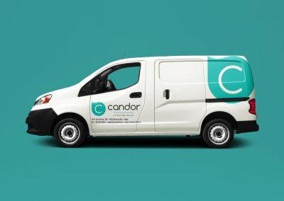 Candor Pulizie - Minivan - Creativamente - Agenzia Comunicazione Brescia