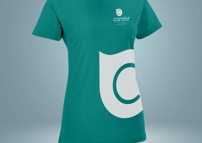 Candor Pulizie - Tshirt - Creativamente Agenzia Comunicazione Brescia